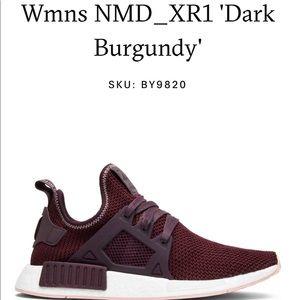 Wmns NMD_XR1 'Dark Burgundy SIZE 6.5/7